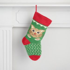 Get your kitten a knit Christmas Stocking for less than $20