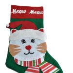 This adorable kitty Christmas stocking is less than $20!