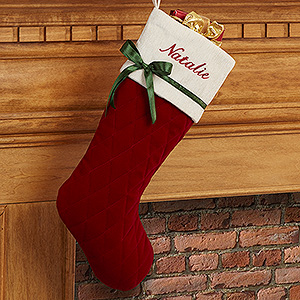 This elegant Christmas Stocking is less than $20!