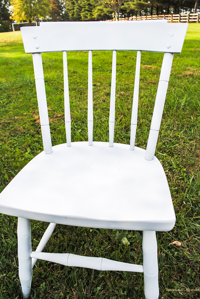 Get a full coverage look or a distressed look when you spray paint furniture.