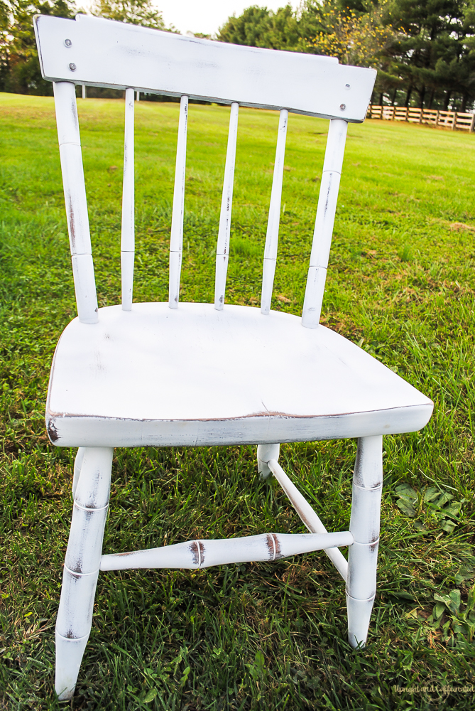 You do need to use a polycrylic after you spray paint furniture.
