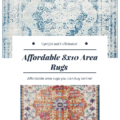 Affordable 8 x 10 area rugs!