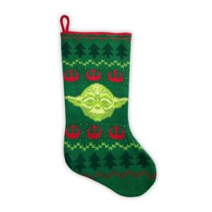 This Knit Yoda Christmas Stocking is under $20