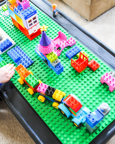 DIY Lego Table : Upcycling Project