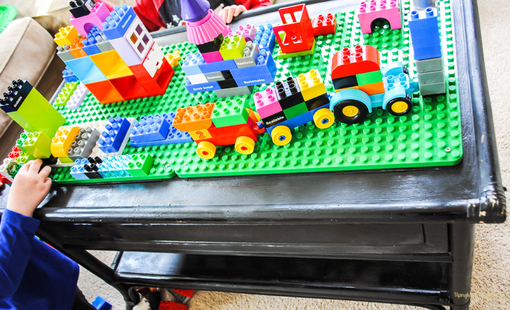 Find Out How To Make A DIY Lego Table! Keep Lego Toys Contained And  Organized