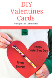 Make these adorable DIY Valentines Cards with a Cricut!
