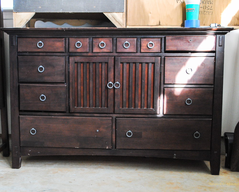 This buffet is on my list of furniture projects to accomplish this year!