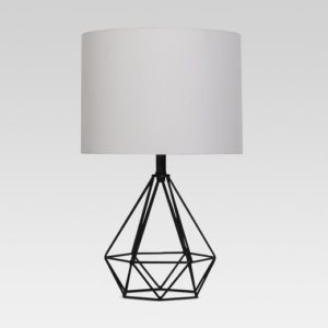 This beautiful and simple geometric lamp is less than $50.