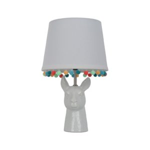 How adorable is this Llama nightstand lamp!?!?