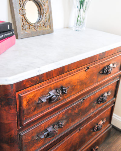 How to Restore an Antique Dresser