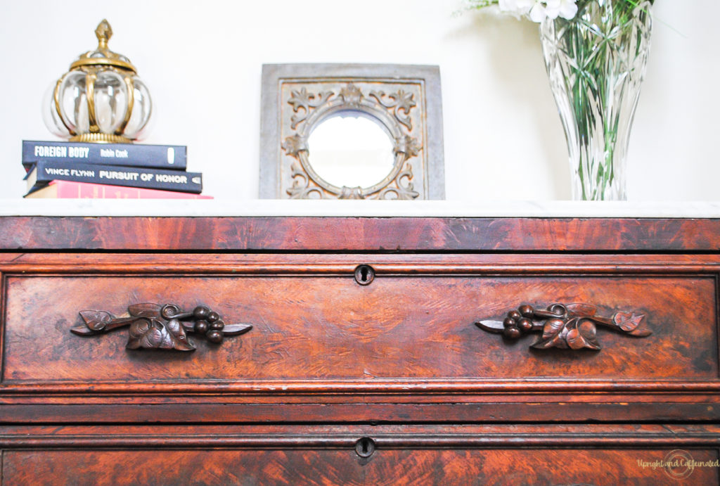 Whoa! Check out this beautiful antique dresser!