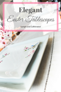 Click to see right beautiful and elegant Easter tablescape ideas
