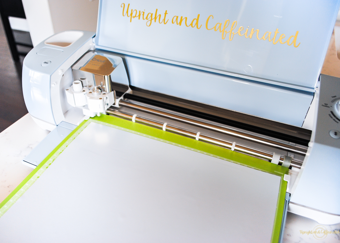 Easy Cricut Projects Using Cricut Design Space - Upright and Caffeinated
