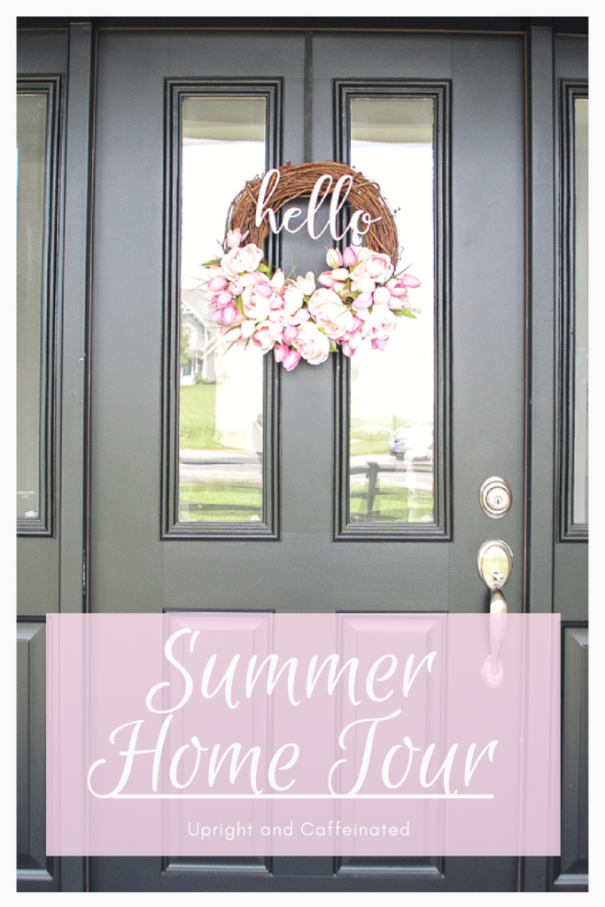 Click to see our summer house tour!!