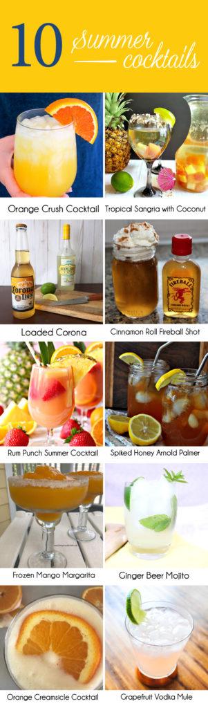 Ten amazing summer cocktails, including my grapefruit vodka mule!