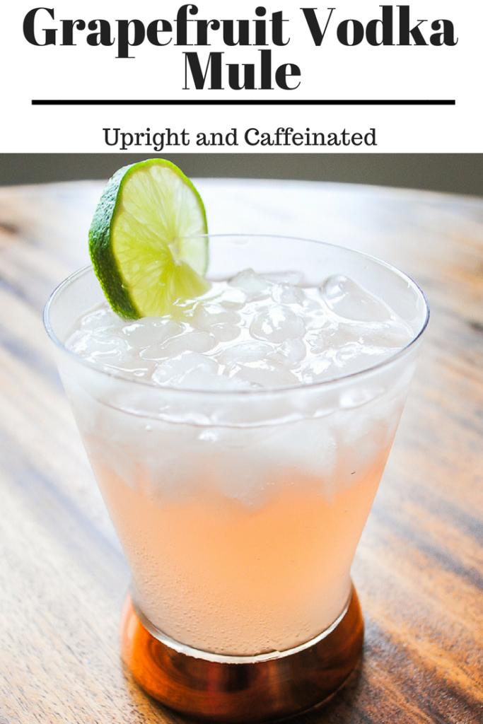 Make this grapefruit vodka mule!