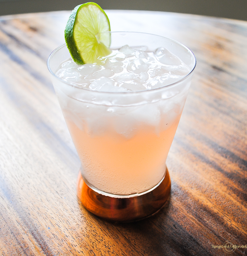 Grapefruit vodka, ginger beer and a lime is amazing!