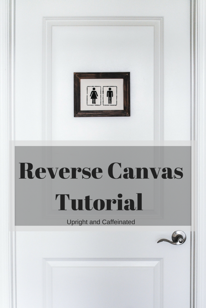 Learn how to make this reverse canvas with a simple tutorial.