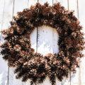 Make this beautiful natural Christmas Wreath.