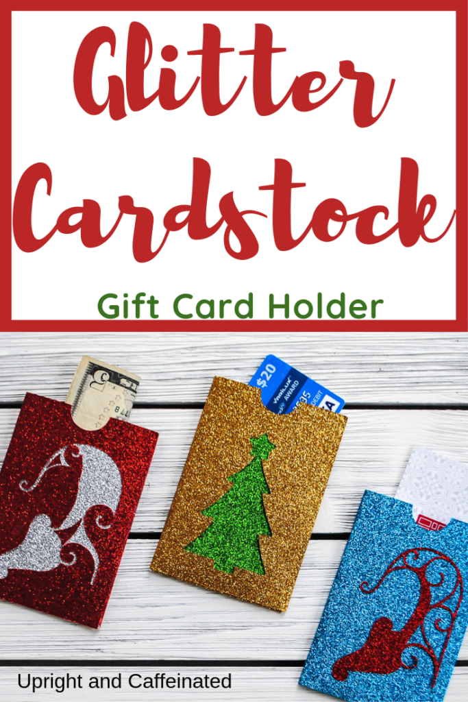 Use Glitter Cardstock To Make This Unique and Festive
